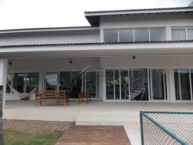 Fundo do Imóvel - Casa em Condominio À Venda - Itatiba - SP - Sítio da Moenda - FCCN100001 - 17