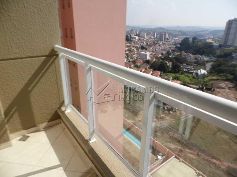 sacada da sala - Apartamento 2 quartos para alugar Itatiba,SP - R$ 1.300 - FCAP20331 - 3