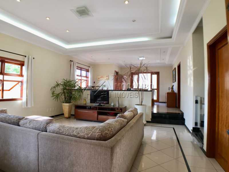 Sala de tv - Casa 4 quartos à venda Itatiba,SP - R$ 659.000 - FCCA40117 - 7