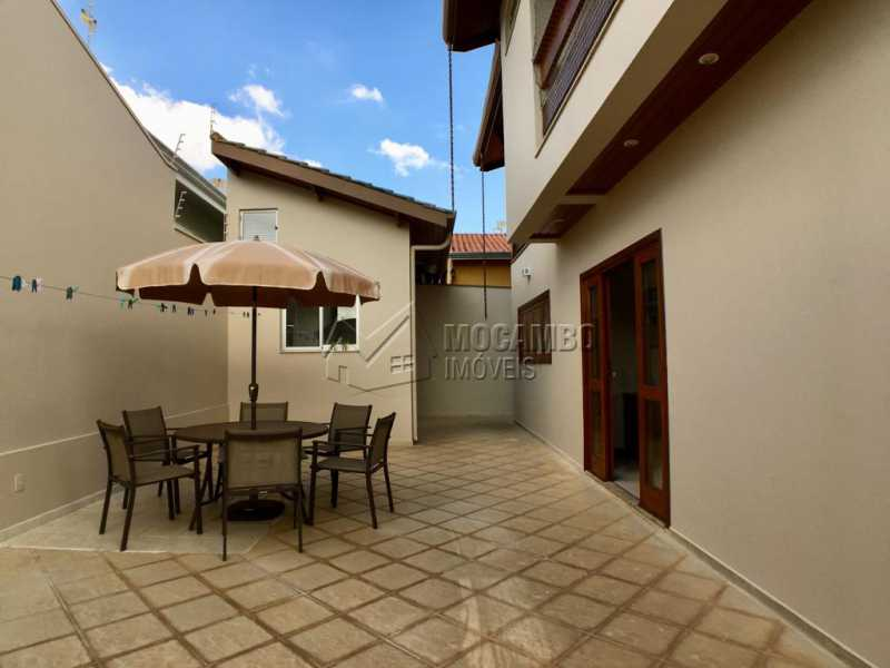 Quintal - Casa 4 quartos à venda Itatiba,SP - R$ 659.000 - FCCA40117 - 24