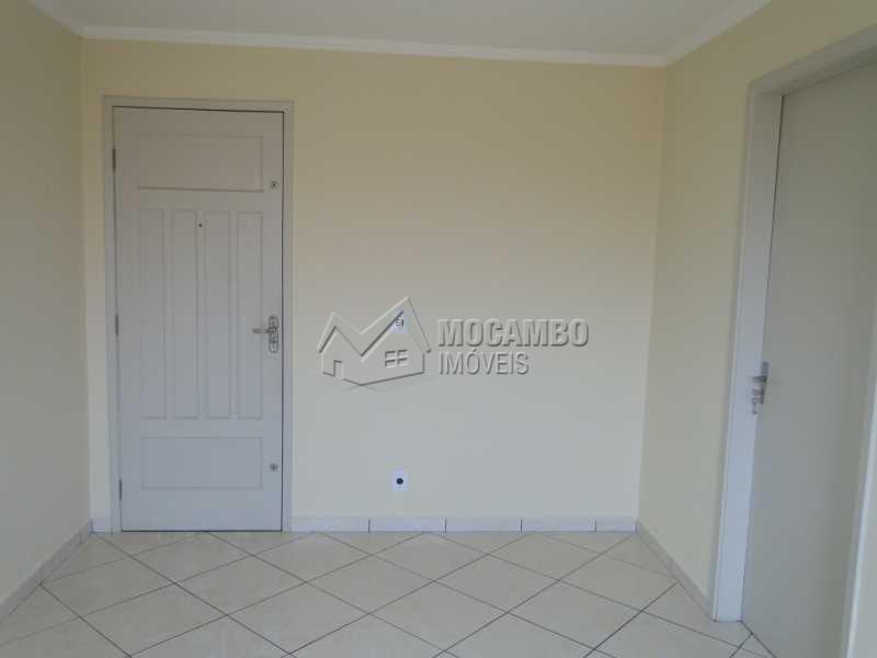 Sala - Apartamento Residencial Beija-Flor - Condomínio B, Itatiba, Residencial Beija Flor, SP Para Alugar, 3 Quartos, 59m² - FCAP30318 - 5
