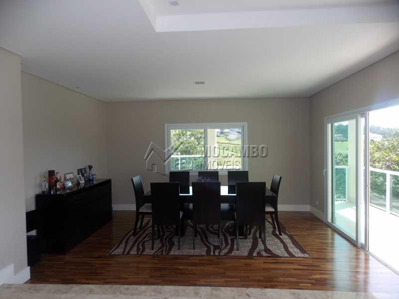Sala Jantar - Casa em Condomínio 3 Quartos À Venda Itatiba,SP - R$ 1.600.000 - FCCN30182 - 14