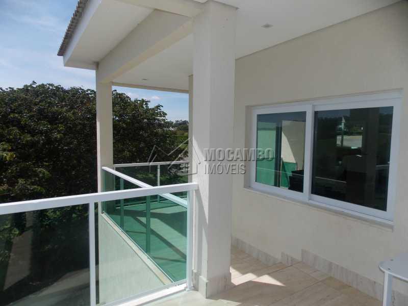 Varanda - Casa em Condomínio 3 Quartos À Venda Itatiba,SP - R$ 1.600.000 - FCCN30182 - 16