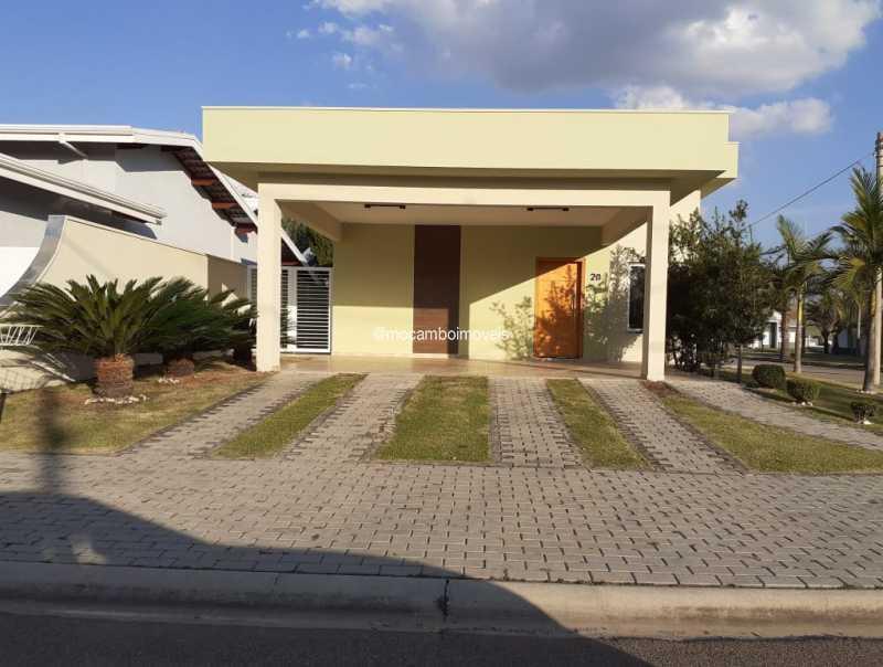 Fachada - Casa em Condomínio 3 quartos para alugar Itatiba,SP - R$ 4.500 - FCCN30184 - 1