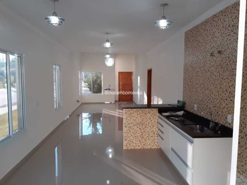 Cozinha/Sala - Casa em Condomínio 3 quartos para alugar Itatiba,SP - R$ 4.500 - FCCN30184 - 6
