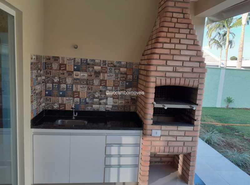 Área Gourmet - Casa em Condomínio 3 quartos para alugar Itatiba,SP - R$ 4.500 - FCCN30184 - 17