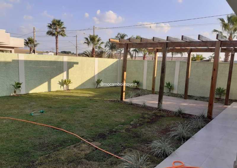 Quintal - Casa em Condomínio 3 quartos para alugar Itatiba,SP - R$ 4.500 - FCCN30184 - 18