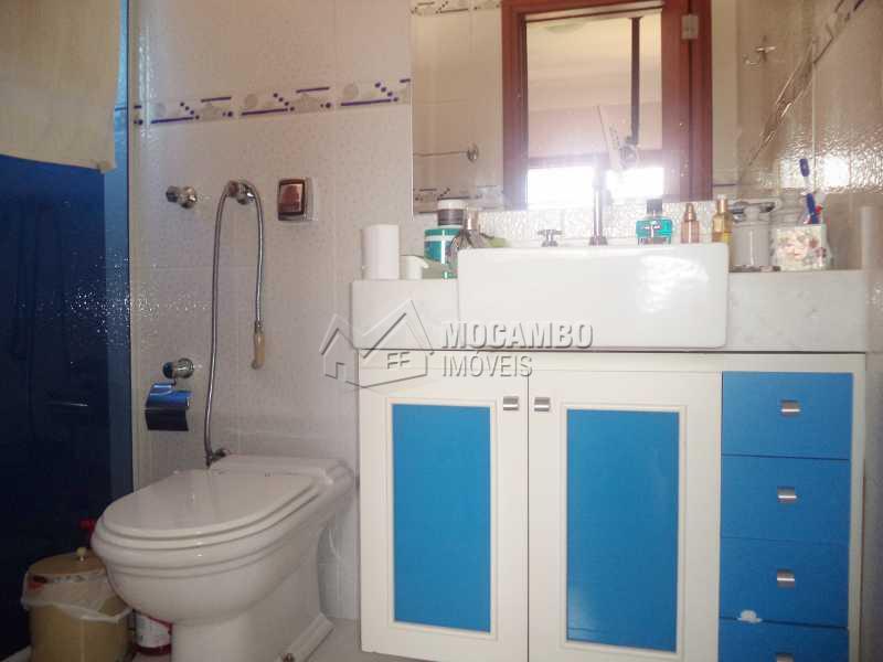 Banheiro suíte - Casa em Condomínio Parque da Fazenda, Itatiba, Parque da Fazenda, SP À Venda, 3 Quartos, 536m² - FCCN30190 - 18