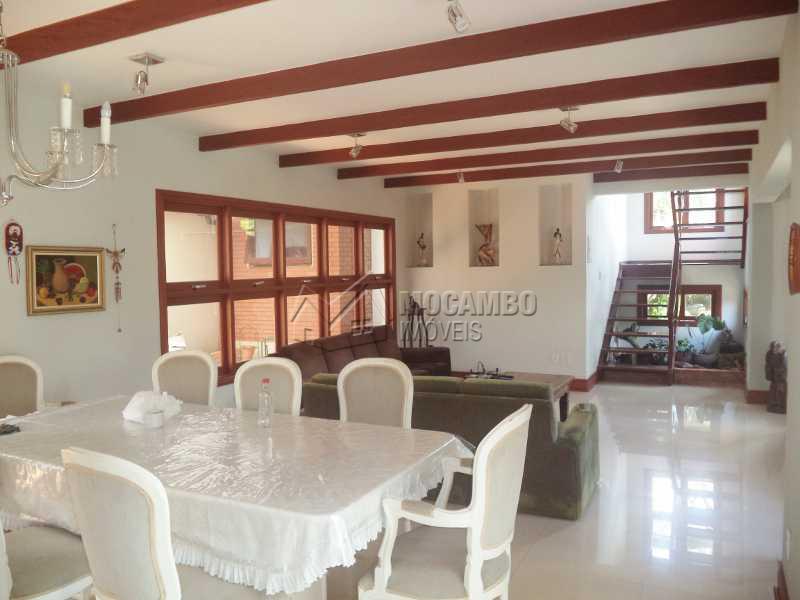 Sala 2 ambientes - Casa em Condomínio Parque da Fazenda, Itatiba, Parque da Fazenda, SP À Venda, 3 Quartos, 536m² - FCCN30190 - 5