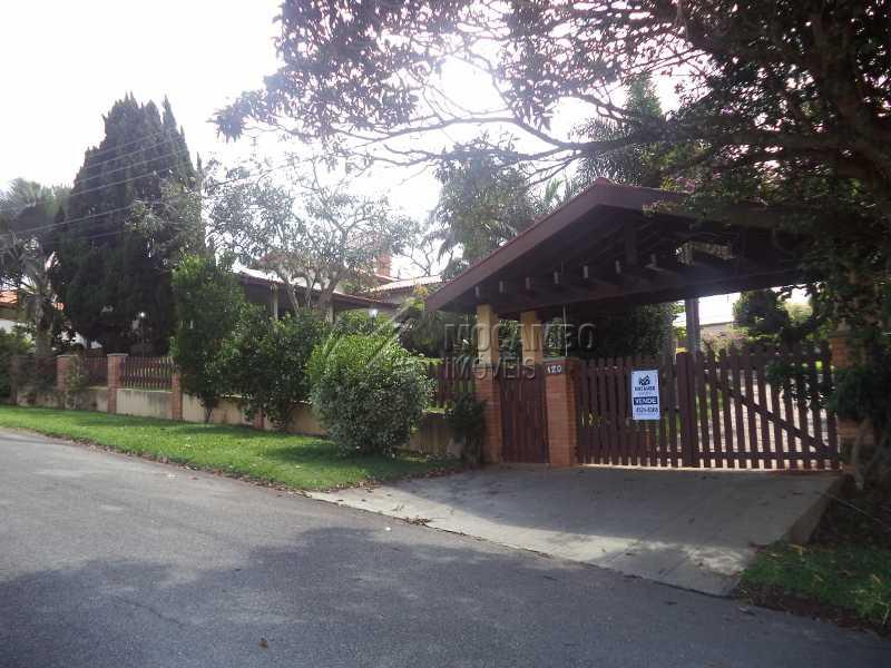 Fachada - Casa em Condomínio Parque da Fazenda, Itatiba, Parque da Fazenda, SP À Venda, 3 Quartos, 536m² - FCCN30190 - 3