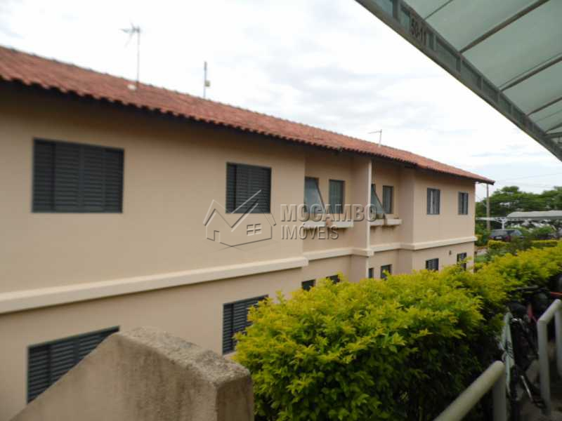 fachada - Apartamento Para Alugar - Itatiba - SP - Residencial Beija Flor - FCAP30331 - 1