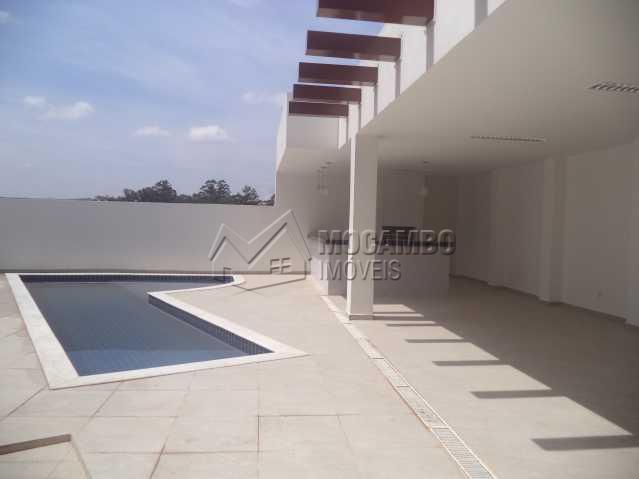 Piscina e churrasqueira  - Apartamento 2 quartos para alugar Itatiba,SP - R$ 730 - FCAP20393 - 16