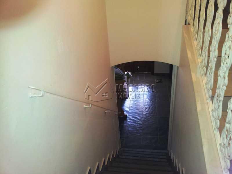 Acesso Sala inferior - Casa Itatiba, Jardim México, SP À Venda, 3 Quartos, 284m² - FCCA30811 - 5