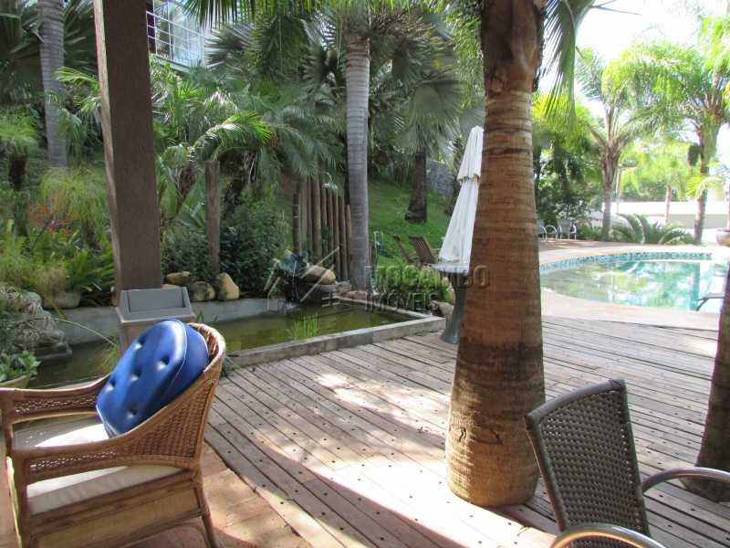Deck piscina - Casa em Condominio em condomínio À Venda - Condomínio Ville Chamonix - Itatiba - SP - Jardim Nossa Senhora das Graças - FCCN40065 - 30