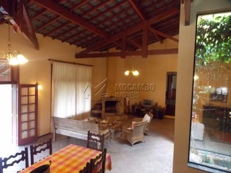 sala de jantar e estar - Casa em Condominio À Venda - Itatiba - SP - Sítio da Moenda - FCCN40067 - 6