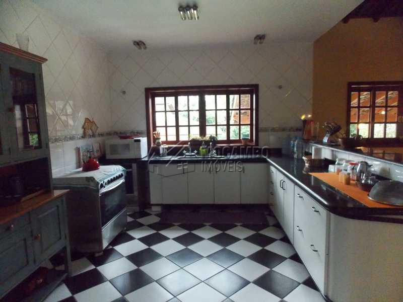 cozinha - Casa em Condominio À Venda - Itatiba - SP - Sítio da Moenda - FCCN40067 - 9