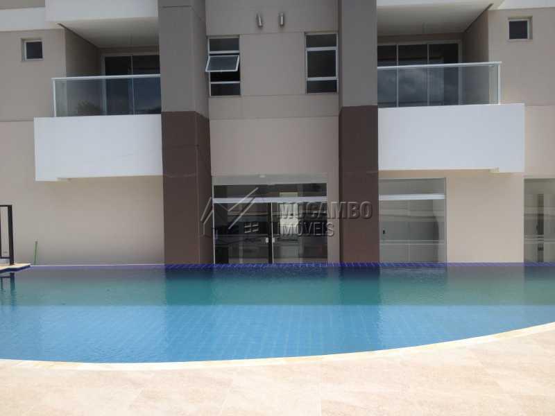 Piscina e entrada do edifício - Apartamento 2 quartos para venda e aluguel Itatiba,SP - R$ 1.200 - FCAP20434 - 20