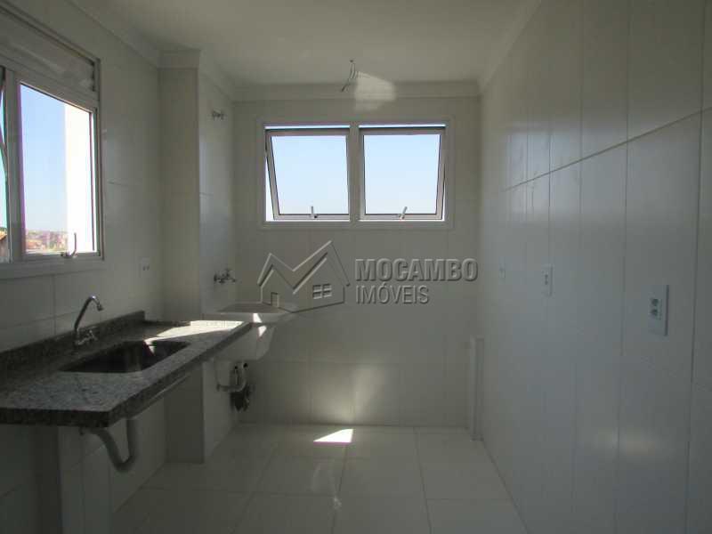 Cozinha  - Apartamento À Venda no Condomínio Edifício Bella Morada - Loteamento Santo Antônio - Itatiba - SP - FCAP20436 - 5