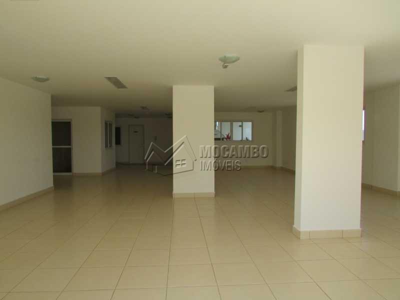 Salão de festas  - Apartamento À Venda no Condomínio Edifício Bella Morada - Loteamento Santo Antônio - Itatiba - SP - FCAP20436 - 12