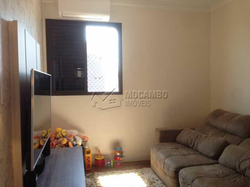 Dormitório/Sala de TV com A/C - Apartamento 3 quartos à venda Itatiba,SP - R$ 447.000 - FCAP30352 - 21