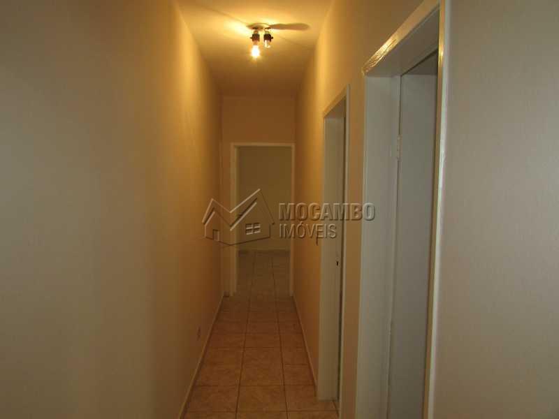 Corredor de Acesso aos Quartos - Casa 2 quartos para alugar Itatiba,SP - R$ 1.280 - FCCA20702 - 5