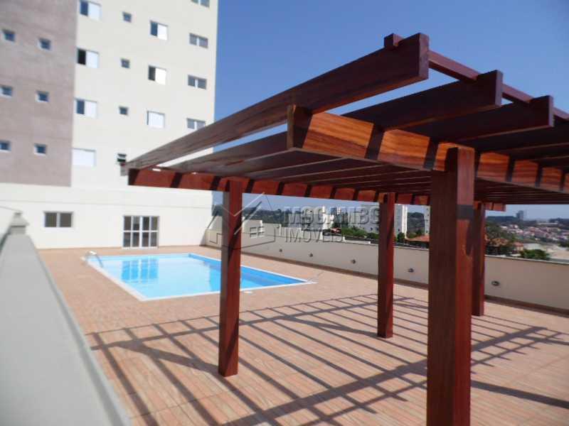 vista do pergolado - Apartamento 2 quartos à venda Itatiba,SP - R$ 288.000 - FCAP20454 - 9