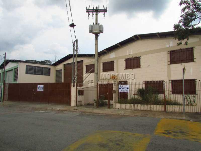 Fachada - Galpão Para Alugar - Itatiba - SP - Jardim da Luz - FCGA00107 - 1