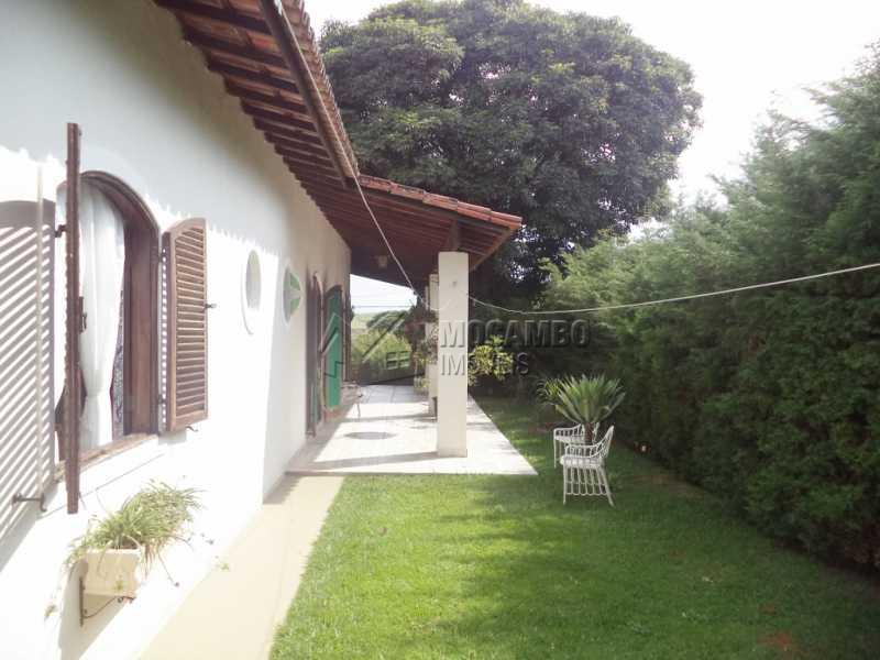 Lateral - Casa em Condomínio 4 quartos à venda Itatiba,SP - R$ 1.280.000 - FCCN40071 - 26