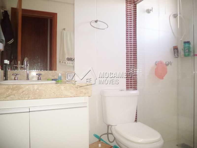 Banheiro Suíte - Apartamento Condomínio Edifício Raritá, Itatiba, Centro,Vila Santa Cruz, SP À Venda, 3 Quartos, 120m² - FCAP30355 - 13