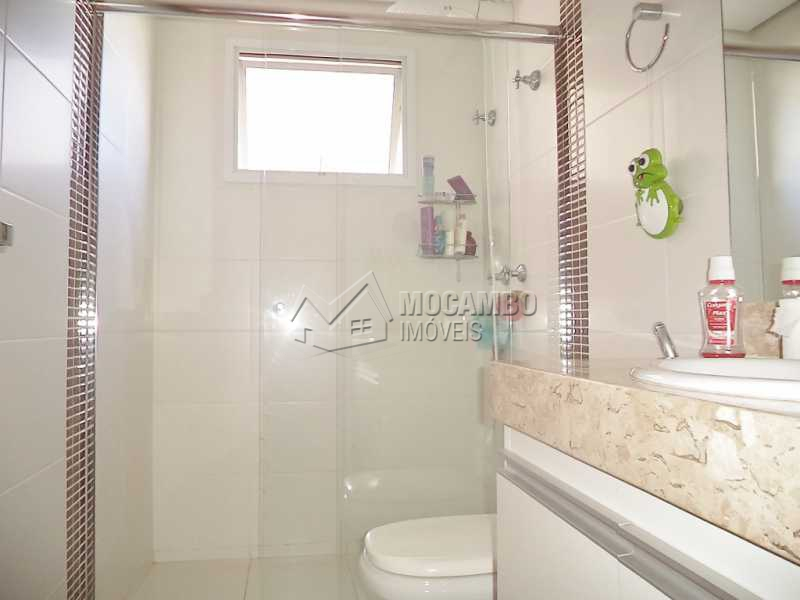 Banheiro Social - Apartamento Condomínio Edifício Raritá, Itatiba, Centro,Vila Santa Cruz, SP À Venda, 3 Quartos, 120m² - FCAP30355 - 7