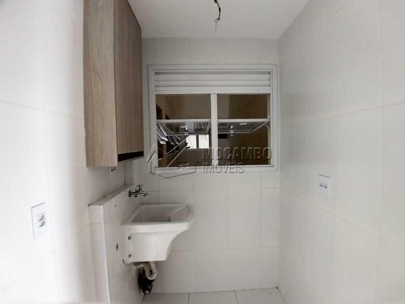 Área de Serviço - Apartamento Para Alugar no Condomínio Edifício Bella Morada - Loteamento Santo Antônio - Itatiba - SP - FCAP20461 - 11