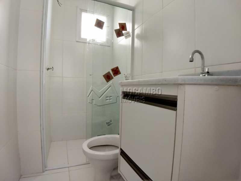 Banheiro Social - Apartamento Para Alugar no Condomínio Edifício Bella Morada - Loteamento Santo Antônio - Itatiba - SP - FCAP20461 - 10