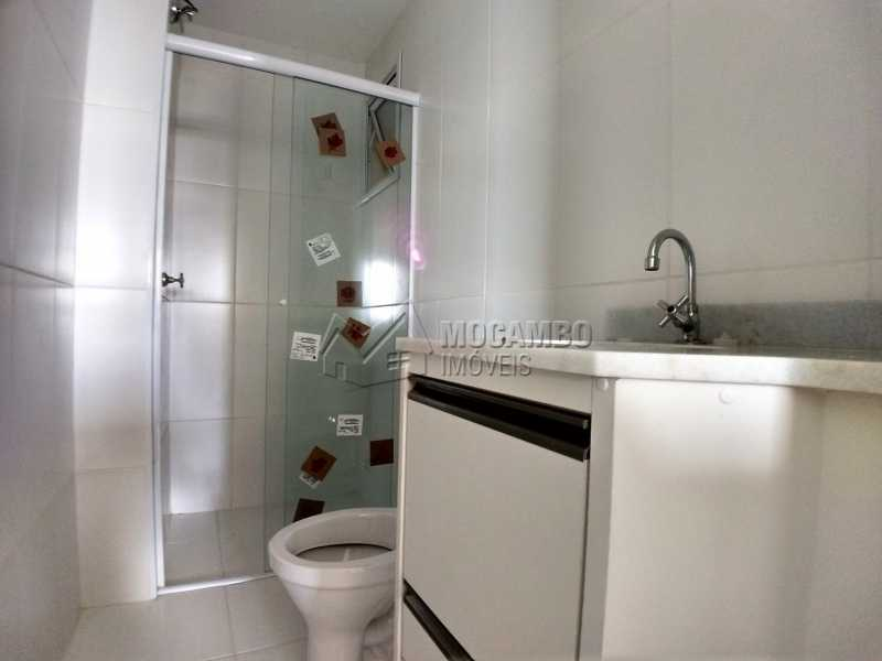 Banheiro Suíte - Apartamento Para Alugar no Condomínio Edifício Bella Morada - Loteamento Santo Antônio - Itatiba - SP - FCAP20461 - 8