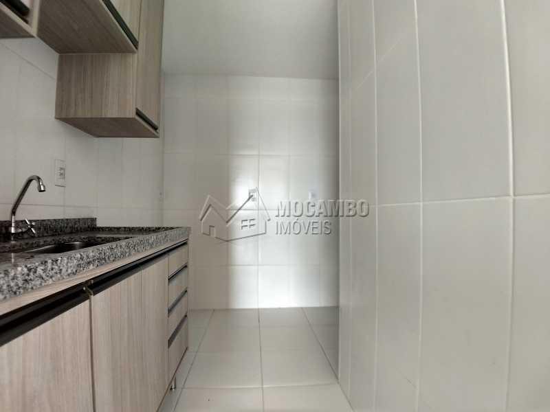 Cozinha - Apartamento Para Alugar no Condomínio Edifício Bella Morada - Loteamento Santo Antônio - Itatiba - SP - FCAP20461 - 5