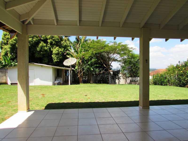 Varanda - Chácara 1000m² À Venda Itatiba,SP - R$ 490.000 - FCCH30080 - 12