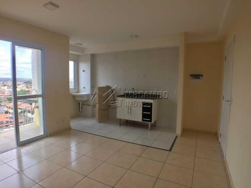 Sala/Cozinha - Apartamento 2 quartos à venda Itatiba,SP - R$ 207.000 - FCAP20464 - 3