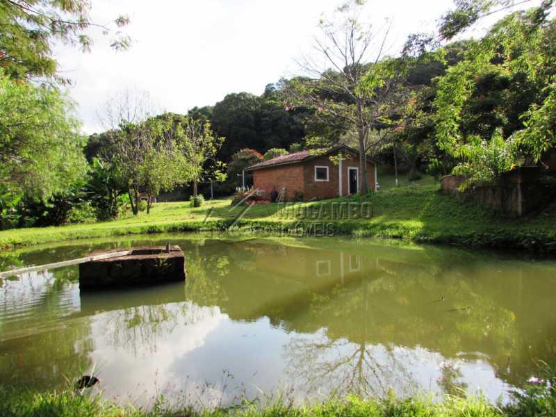 Lago  - Sítio 25000m² à venda Itatiba,SP - R$ 1.100.000 - FCSI30001 - 1