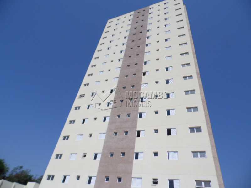 Fachada  - Apartamento Para Alugar no Condomínio Edifício Bella Morada - Loteamento Santo Antônio - Itatiba - SP - FCAP20469 - 13