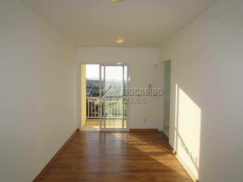 Sala - Apartamento Para Alugar no Condomínio Edifício Bella Morada - Loteamento Santo Antônio - Itatiba - SP - FCAP20469 - 1