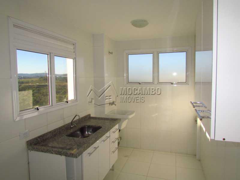 Cozinha  - Apartamento Para Alugar no Condomínio Edifício Bella Morada - Loteamento Santo Antônio - Itatiba - SP - FCAP20469 - 9