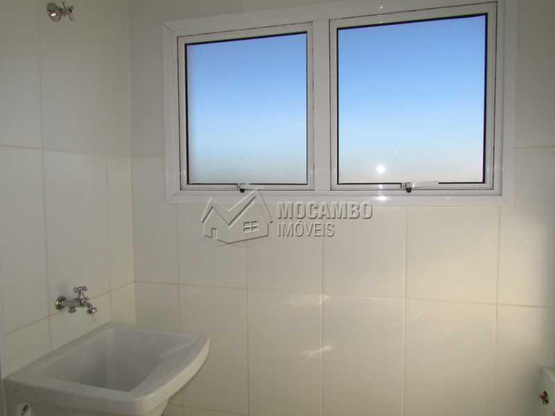 Área de Serviço  - Apartamento Para Alugar no Condomínio Edifício Bella Morada - Loteamento Santo Antônio - Itatiba - SP - FCAP20469 - 12
