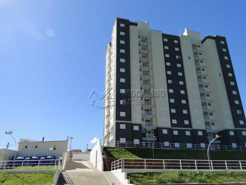 Fachada - Apartamento Condomínio Edifício Residencial Green Ville, Avenida Roberto Delphino,Itatiba, Bairro das Brotas, SP À Venda, 2 Quartos, 50m² - FCAP20484 - 1