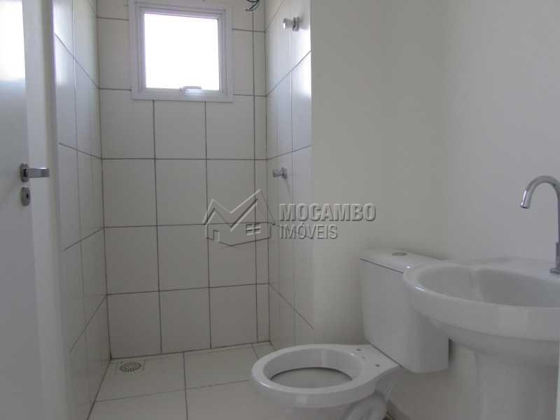 Banheiro - Apartamento Condomínio Edifício Residencial Green Ville, Avenida Roberto Delphino,Itatiba, Bairro das Brotas, SP À Venda, 2 Quartos, 52m² - FCAP20486 - 9