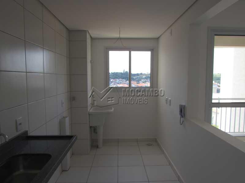 Cozinha - Apartamento Condomínio Edifício Residencial Green Ville, Avenida Roberto Delphino,Itatiba, Bairro das Brotas, SP À Venda, 2 Quartos, 52m² - FCAP20486 - 3