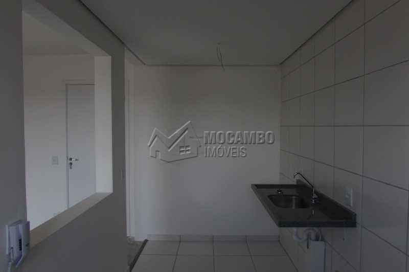 Cozinha - Apartamento Condomínio Edifício Residencial Green Ville, Avenida Roberto Delphino,Itatiba, Bairro das Brotas, SP À Venda, 2 Quartos, 52m² - FCAP20486 - 4