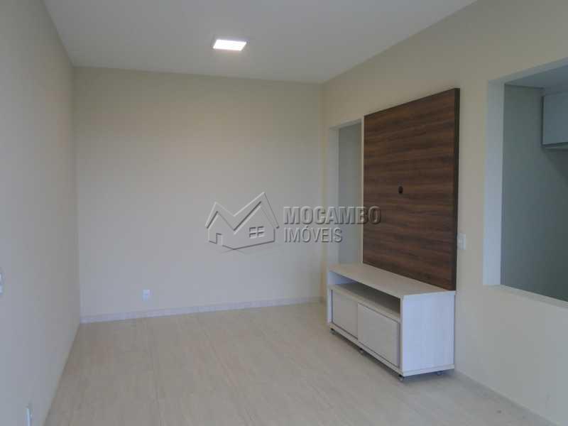 Sala - Apartamento Condomínio Edifício Residencial Espanha, Itatiba, Jardim Alto de Santa Cruz, SP Para Alugar, 2 Quartos, 68m² - FCAP20493 - 1