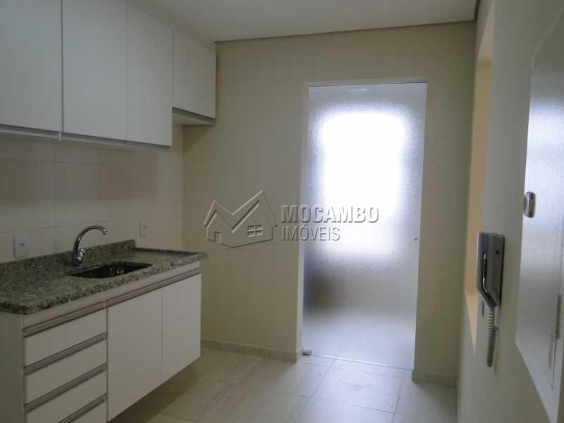 Cozinha - Apartamento Condomínio Edifício Residencial Espanha, Itatiba, Jardim Alto de Santa Cruz, SP Para Alugar, 2 Quartos, 68m² - FCAP20493 - 5