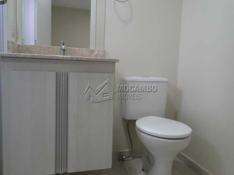 Banheiro Social - Apartamento Condomínio Edifício Residencial Espanha, Itatiba, Jardim Alto de Santa Cruz, SP Para Alugar, 2 Quartos, 68m² - FCAP20493 - 9