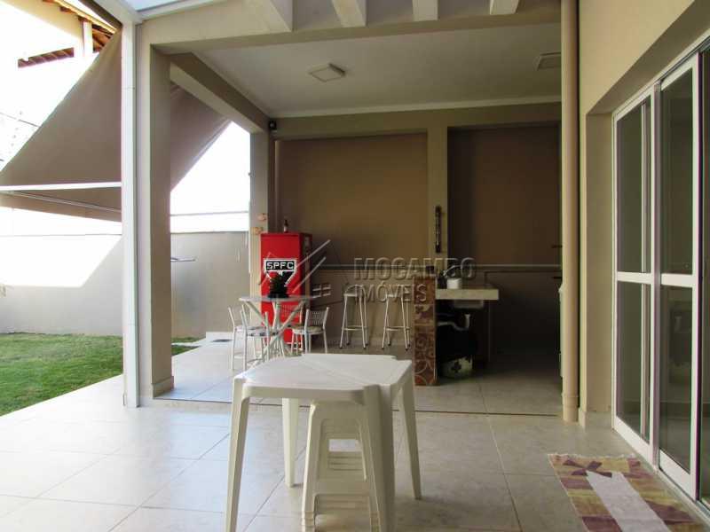 Espaço gourmet - Casa em Condominio À Venda - Itatiba - SP - Residencial Fazenda Serrinha - FCCN30234 - 12