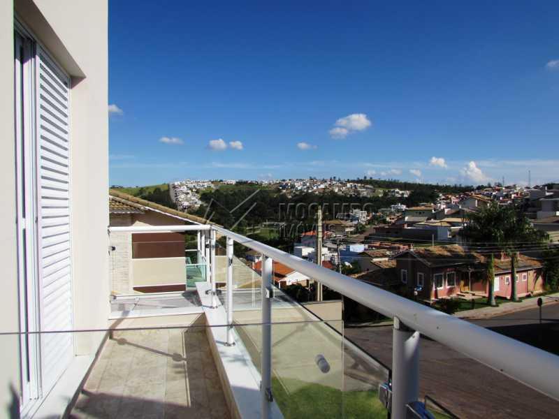 Varanda Frontal  - Casa em Condominio À Venda - Itatiba - SP - Residencial Fazenda Serrinha - FCCN30234 - 29